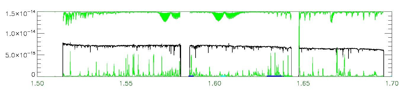 APOGEE infrared spectrum of 2M21332527-0049386